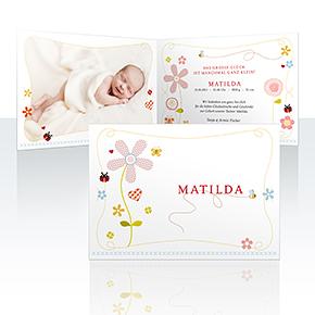Geburtskarten - Leichtigkeit