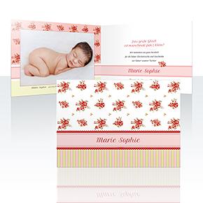 Geburtskarten - Romantisch