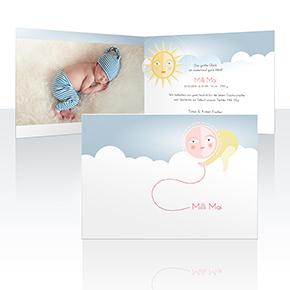 Geburtskarten - Siebter Himmel