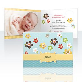 Geburtskarten - Sommertraum