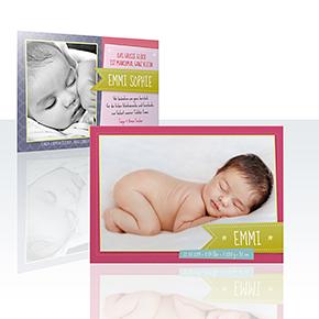 Geburtskarten - Kärtchen