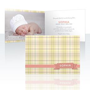 Geburtskarten - Kensington