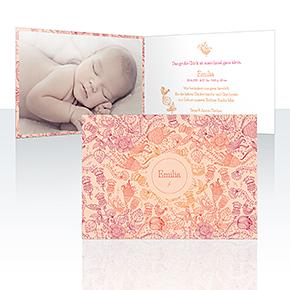 Geburtskarten - Kritzelchen