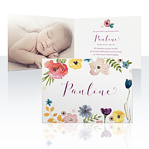 Geburtskarten - Fiori di Pinti
