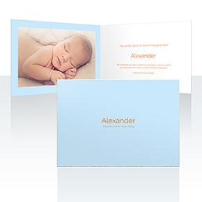 Geburtskarten - Minimalismus